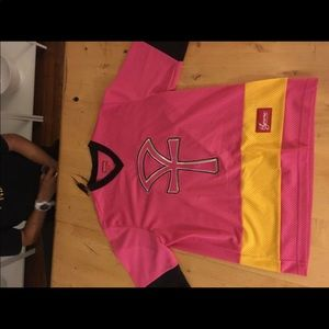 Supreme pink hockey jersey adult medium